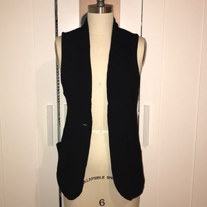 Urban Outfitters Black Vest